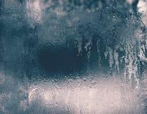 Textur av isyttersida Arkivbild
