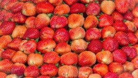 Textur av jordgubbar royaltyfri fotografi