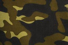 Textur av kamouflagetyg Camo bakgrund royaltyfria bilder