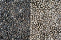 Textur av kiselstenstenar Royaltyfria Bilder