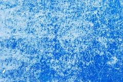 Textur av knäckte gamla blått målar på plast- Royaltyfri Bild