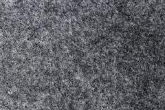 Textur av konstgjord grå filt Royaltyfri Fotografi
