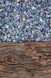Textur av kraschad grey Arkivfoto
