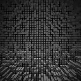 Textur av kvarter på en färgbakgrund Arkivbild