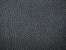 Textur av lädersvarten Abstrakt lädertextur med suddigheten Arkivbilder