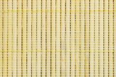 Textur av liten bambubruntfärg, vide- korg för handwork, abstrakt bakgrund Royaltyfri Foto