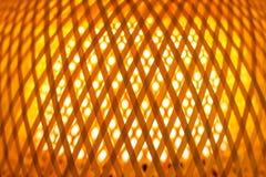 Textur av ljus orange lampskärm royaltyfri bild