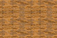Textur av många baler av hö Arkivbilder