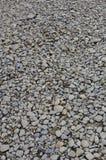 Textur av många krossade stenar Den krossade stenen är ett fast grundmaterial för fundament Arkivfoton