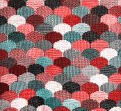 Textur av mångfärgat tyg Fotografering för Bildbyråer