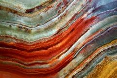 Textur av onyx för marmor för ädelstensten och Royaltyfri Bild