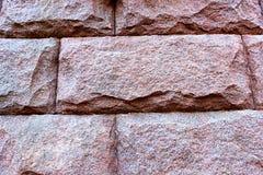Textur av röd granit Arkivbilder