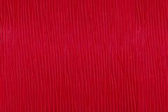 Textur av rött läder Royaltyfri Foto