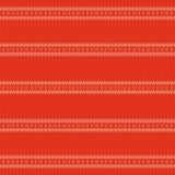 Textur av rött stuckit tyg Royaltyfri Fotografi