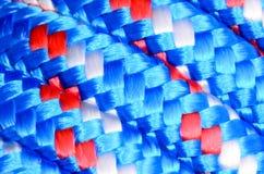 Textur av repet Arkivbilder