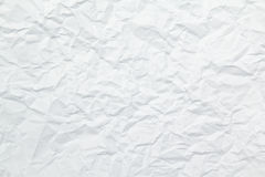 Textur av rynkigt papper Arkivfoton