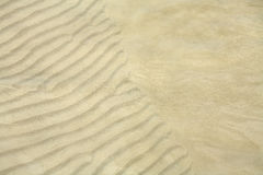 Textur av sanden Royaltyfria Foton