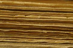 Textur av sidor, gamla böcker, tappninghandlag Royaltyfria Bilder