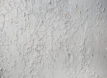 Textur av skrapad grå färgmålarfärg Royaltyfri Fotografi