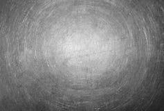 Textur av skrapad metallyttersida Royaltyfri Fotografi