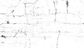Textur av skrapor, chiper, hasar, smuts på gammal åldrig yttersida Gamla filmeffektsamkopieringar stock illustrationer