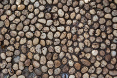 Textur av små stenar fotografering för bildbyråer