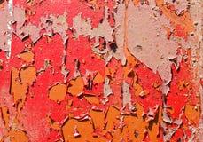 Textur av sprucken målarfärg Royaltyfria Bilder