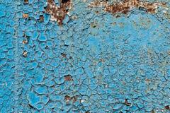 Textur av sprucken målarfärg Fotografering för Bildbyråer