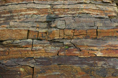 Textur av stenen Royaltyfri Foto