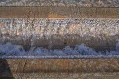 Textur av stenen och vatten Royaltyfri Bild