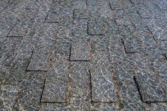 Textur av stenen och vatten Royaltyfria Foton