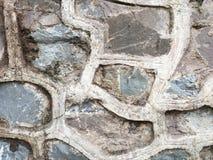 Textur av stenen på väggen Arkivbilder