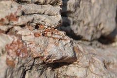 Textur av stenen vaggar Royaltyfria Foton