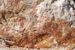 Textur av stenen vaggar Arkivfoton