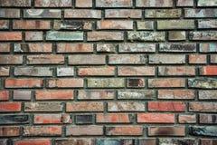 Textur av tegelstenväggen arkivbild