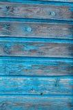 Textur av träblåttpanelen för bakgrund Arkivfoto