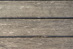 Textur av träslats i horisontalbeställning Arkivfoto