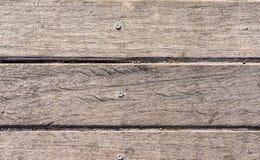 Textur av träslats i horisontalbeställning Royaltyfria Foton