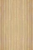 Textur av träslatsna av bambu Arkivbilder