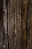 Textur av träyttersida för mörk brunt Arkivfoton