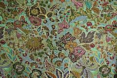 Textur av trycktyg gör randig exotiska blommor Royaltyfria Bilder