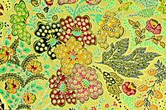 Textur av trycktyg gör randig exotiska blommor Arkivbilder