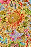 Textur av trycktyg gör randig exotiska blommor Royaltyfri Foto