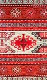 Textur av turkisk matta Royaltyfri Foto