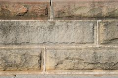 Textur av väggen för tappningtegelstenkvarter i den vita signalen, för backgroun royaltyfri foto