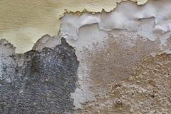 Textur av väggmurbruk, gammal kall signal Royaltyfri Foto