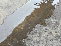Textur av vattnet Arkivfoto