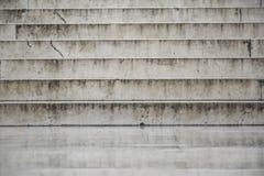 Textur av vit marmortrappa Fotografering för Bildbyråer