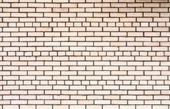 Textur av vita tegelstenar Arkivfoton
