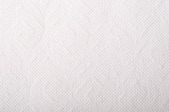 Textur av vitt silkespapperpapper Royaltyfria Bilder
